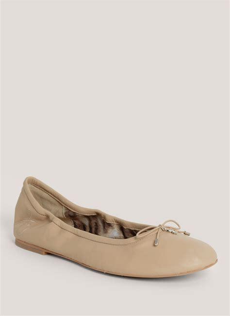 sam edelman slippers lyst sam edelman felicia ballerina flats in pink