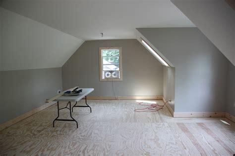 finishing room 2 car 2 story garage using attic trusses and dormer