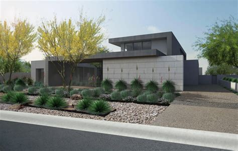 Modern Home Designs And Floor Plans by Contemporary Desert Architecture Modern Desert Landscape