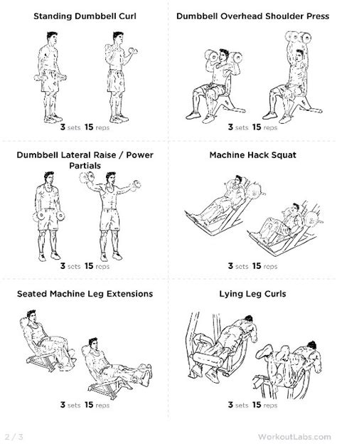 at home workout plan for beginners home design and style