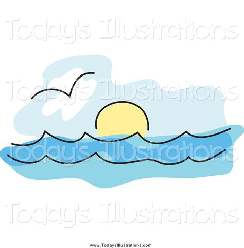 30 wave line drawing free cliparts that you can clipart of a seagull the surf and the sun on the