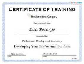 Training certificate image 5