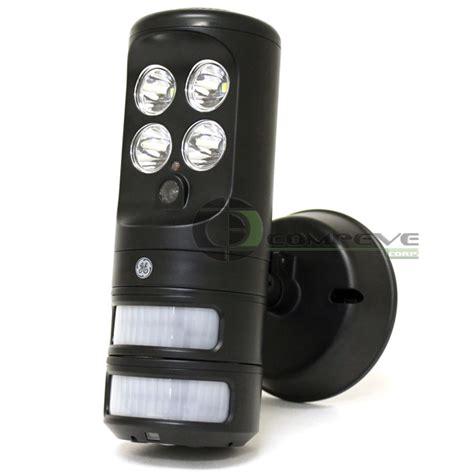 ge motion activated led security light ge motion sensor tracking led security spotlight smart