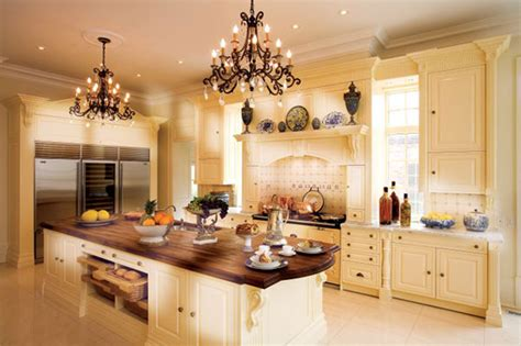 Beautiful Kitchen Design White Luxury Kitchen Designs Photo Gallery Wooden Countertop Beautiful Chandelier