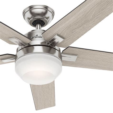 contemporary white ceiling fan quot brushed nickel contemporary ceiling fan with cased