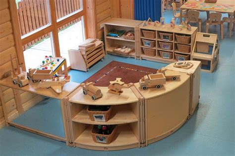 layout of nursery area community playthings asquith harpenden block area with