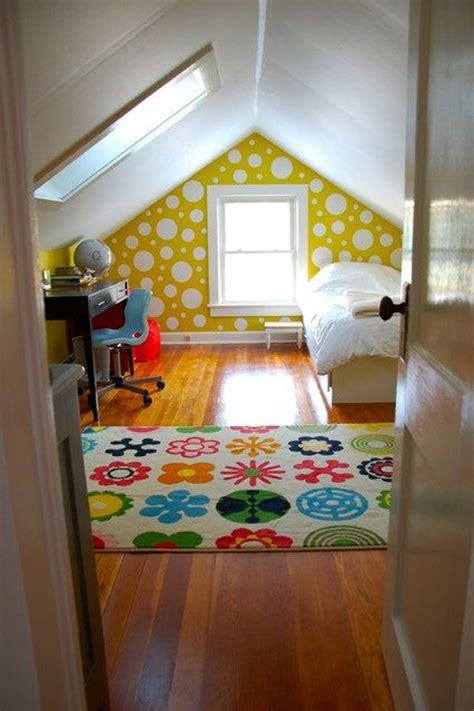 bright attic room  childrens homemydesign