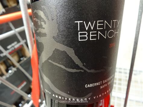 twenty bench cabernet 2010 twenty bench cabernet sauvignon