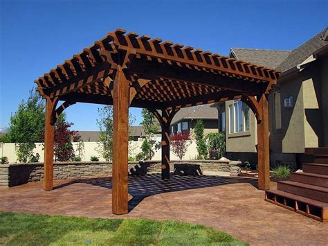 Outstanding Wooden Pergola Design For Your Backyard Relaxing Space ? outdoor gazebos and