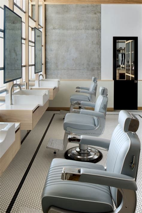 Interior Design Livingroom barber shops around the world reveal their understated luxury