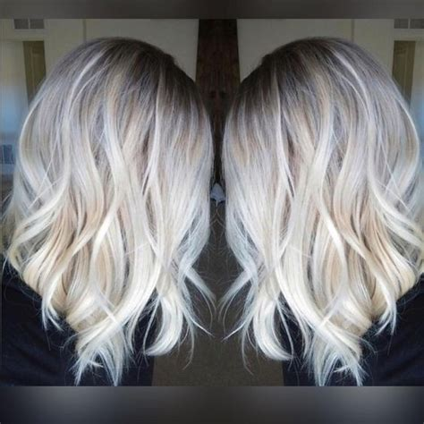 platinum silver blonde balayage 10 hair color ideas for 2016 2017 platinum blonde hair