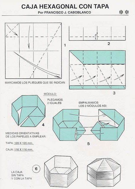 Origami Hexagon Box - 17 best images about origami on hexagon box