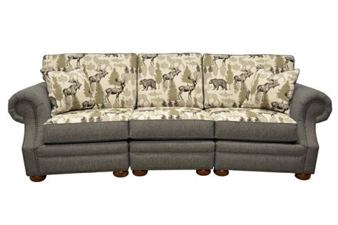 Conversation Sofa Sectional Mankato Conversation Sectional Sofa Lacrosse Timber Ridge Furniture The Log Furniture Store
