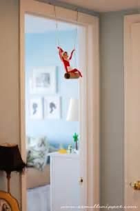 elf on the shelf swing 25 days of elf on the shelf mommy mafia