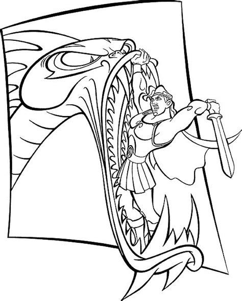 hercules coloring pages hercules coloring pages coloringpages1001
