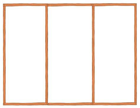 Blank Tri Fold Brochure Template ? Template Design