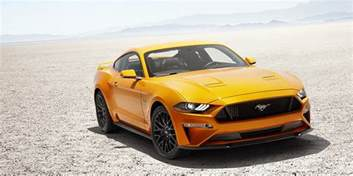 2018 ford mustang sports coup 233 has power at the of