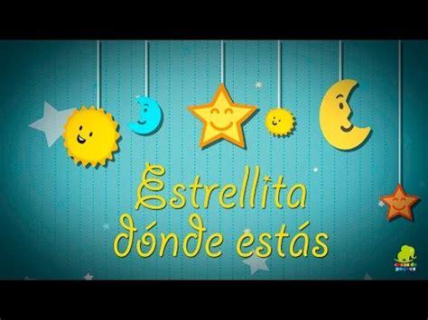 imagenes niños musica estrellita d 243 nde est 225 s v 237 deos de canciones de cuna