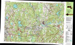 topographical map ayer topographic map ma usgs topo 42071e5