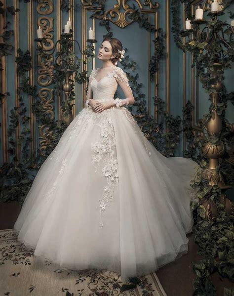 weddingku bridal wedding gown ivory bridal