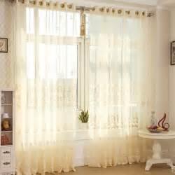 201 l 233 gant rideau de dentelle beige couleur et jacquard