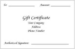 9 Best Images of Free Gift Certificate Templates For Word
