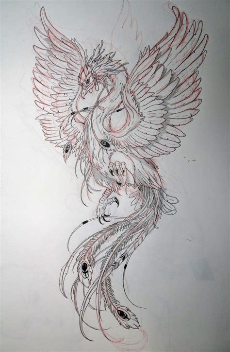 phoenix tattoo designs japanese seher one art design ilustraciones pinterest