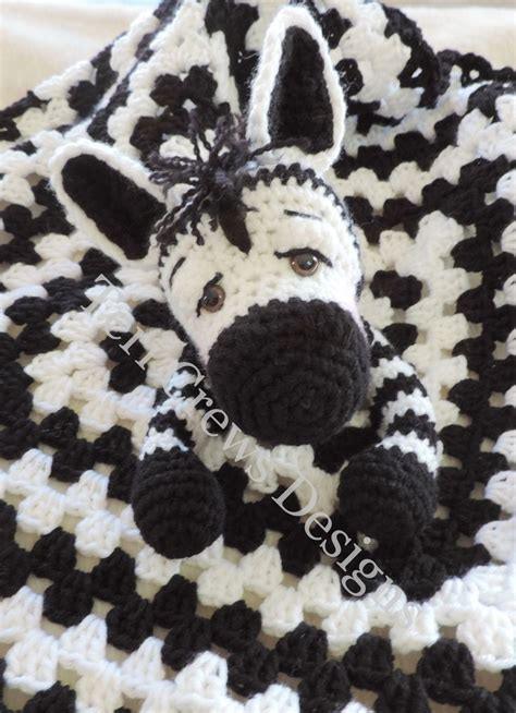 zebra lovey pattern 164 best images about crochet security blankets on