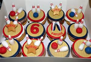 ten pin bowling themed cupcakes 171 susie s cakes