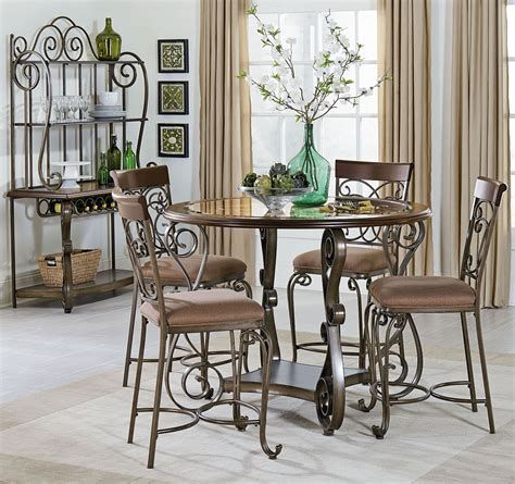 cherry dining room set bombay cherry counter height dining room set 13436