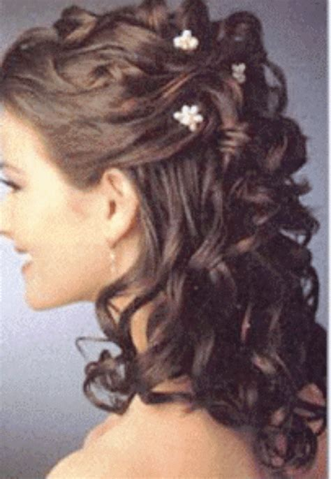 Half Up Half Wedding Hairstyles Groom by Half Up Hairstyles For Of The The