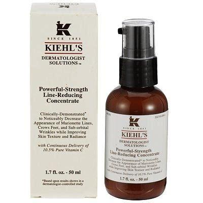 Kiehls Powerful Strength Line Reducing Concentrate Sle consejos de belleza el poder de la vitamina c bcn cool