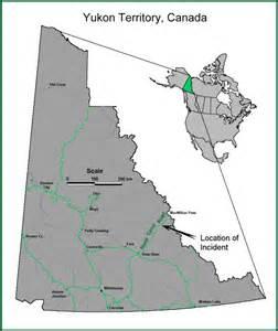 maps of yukon territory