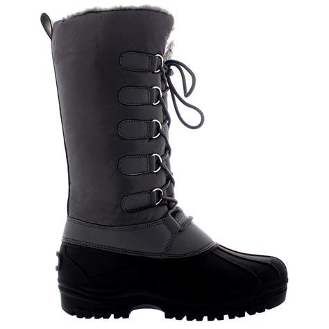 boots uk womens muck quilted waterproof duck hiking walking winter