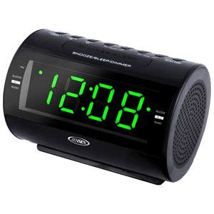 am fm dual alarm clock radio with nature sounds jcr210 ideastage promotional products