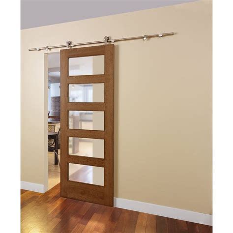 Barn Pocket Doors Shop Colonial Elegance Colonial Elegance 78 75 In Adjustable Steel Pocket Door Loft Rail At Lowe