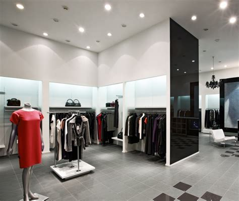 Lighting Shops Retail Lighting Requires Energy Efficiency Color Balance