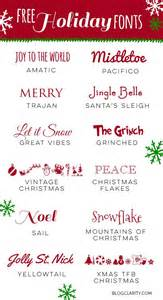 25 best ideas about christmas fonts on pinterest
