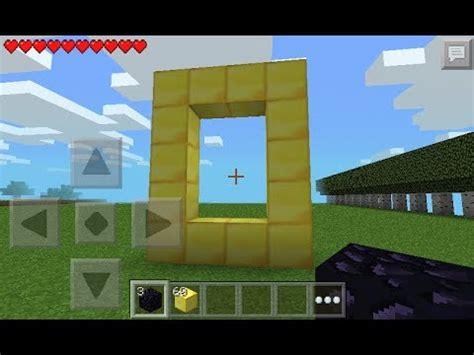 minecraft 0 8 1 apk minecraft pe 0 8 1 mod script portal al mundo oro d
