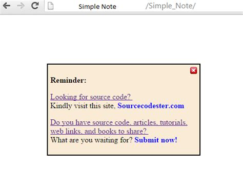 javascript tutorial notes how to make simple note using html javascript free