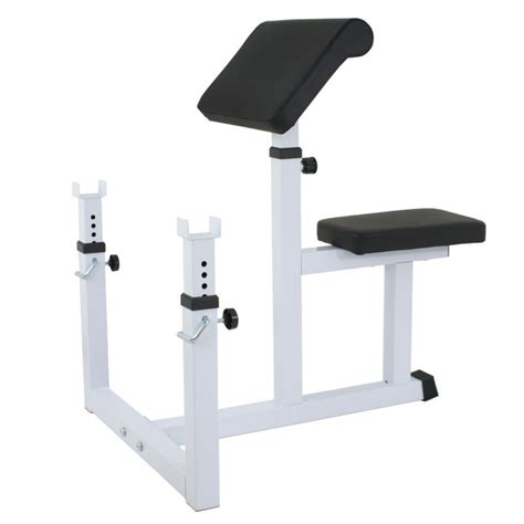 weight bench with arm curl professional preacher curl weight bench seated preacher