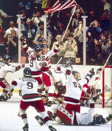 The Miracle Story Hockey Sports Legends Nostalgia History