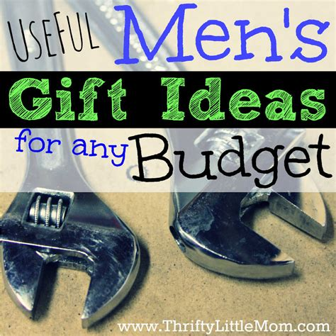 useful men s gift ideas for any budget 187 thrifty little mom