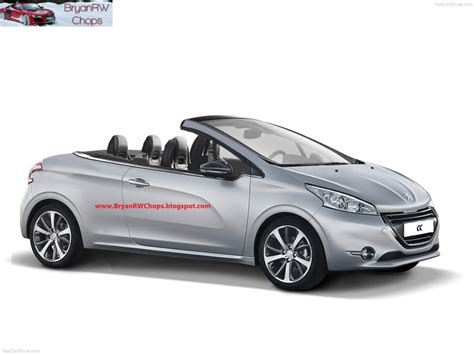 peugeot history peugeot 208 cc technical details history photos on