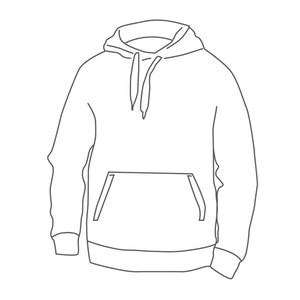 desain jaket hoodie coreldraw desain jaket polos terbaru pinasthika artista