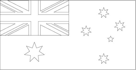 australian flag template to colour flag images and template files for department