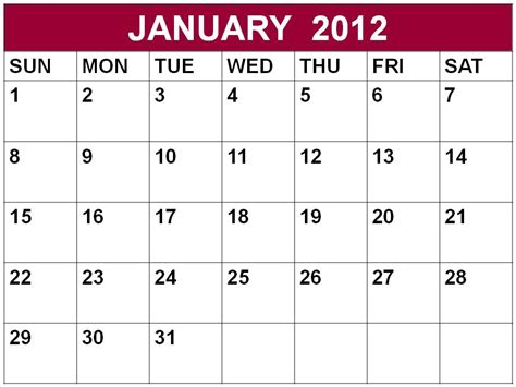January 2012 Calendar January Roundup What Does It Take To Bring Technology To