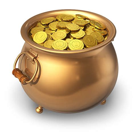 Stock Pot Golden royalty free pot of gold pictures images and stock photos