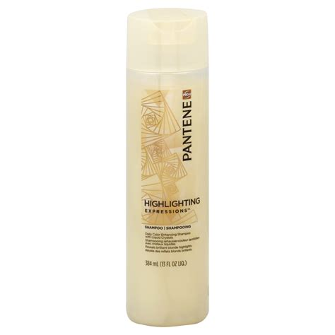 pantene pro v silver expressions shoo 13 fl oz pantene highlighting expressions conditioner daily color