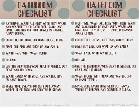 bathroom hygiene life s journey to perfection getting organized bathroom